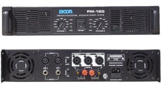 Unidad Potencia Amplificador Moon Pm120 Estereo 800w La Roca
