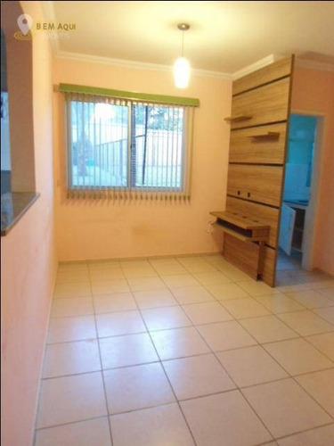 Imagem 1 de 11 de Apartamento Com 2 Dormitórios À Venda, 54 M² Por R$ 200.000,00 - Vila Santa Terezinha - Itu/sp - Ap0012