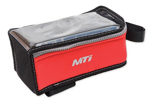 Bolso Porta Celular Bicicleta Mti Eco Boost Xl Rojo - Racer