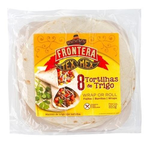 Imagem 1 de 4 de 8 Massas Milho Tipo Tortilla P/fajita Burritos Wrap Frontera