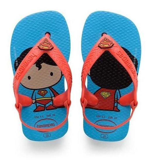 Havaianas Sandalias Kids - Baby Hero Superman