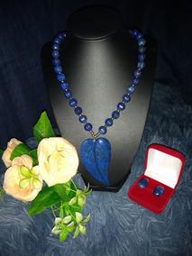 Maravilhoso Colar De Lapis Lazuli