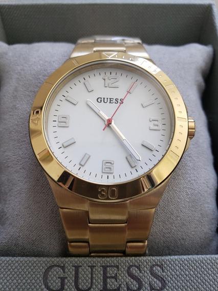 Relógio Guess Modelo Feminino Todo Em Aço