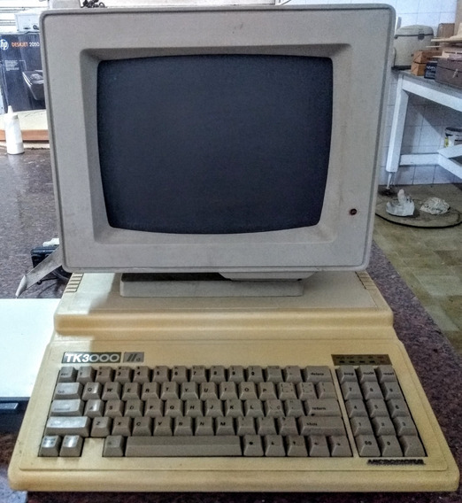 Tk 3000 Iie Microdigital Funcionando Tk3000 Raridade Coleção