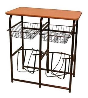Mueble De Cocina Alacena Porta Garrafon Microondas Y Frutero