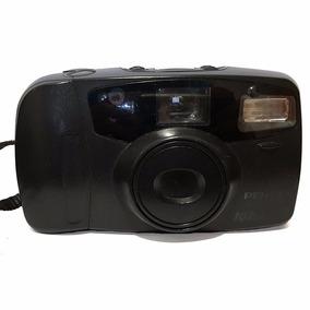 Câmera Foto Pentax Auto Focus Iqzoom 80e Funcionando Testada
