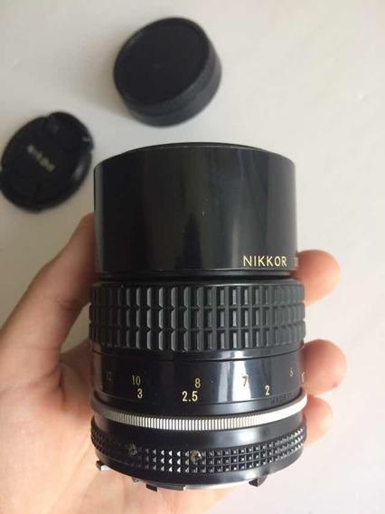 Lente Nikon Nikkor 135mm F2.8 Ais