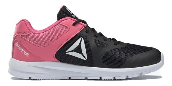 Reebok Zapatillas Running Niña Rush Runner Negro - Rosa