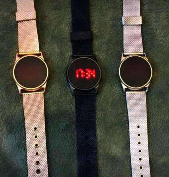 Relógio Digital De Led + Brinde