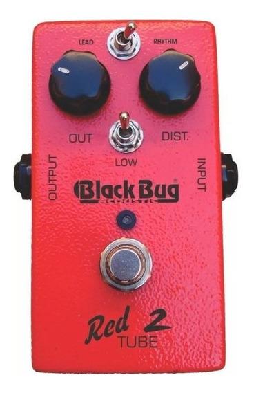 Set De Pedais - Red Tube 2 E Phaser 900 Black Bug