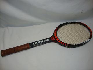 Antiga Raquete Tenis Donnay Belgica Madeira Anos 70