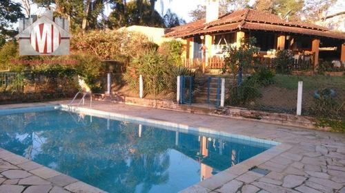 Imagem 1 de 30 de Linda Chácara Com 03 Dormitórios, Pomar, Piscina, Ótima Localização, Vista Deslumbrante, À Venda, 3000 M² Por R$ 470.000 -  Pinhalzinho - Sp - Ch0225