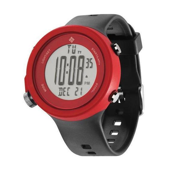 Relógio De Pulso Columbia Ravenous - Vermelho/preto