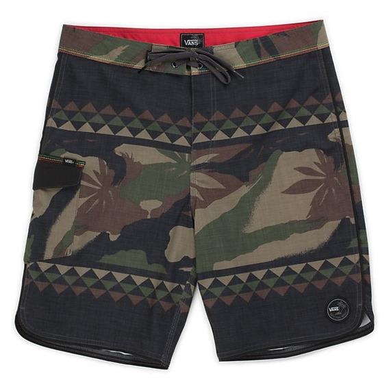 Bermudas Shorts Malla Traje De Baño Hombre Vans Original