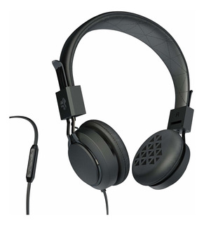 Auriculares Sobre Oido Jlaq36 . Audifonos Negro