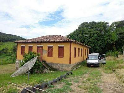 Fazenda De 98 Há São João Del Rey Com Pastagem- Casa Centenária Com 05 Quartos. - 2506