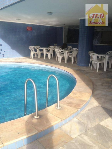 Apartamento Com 2 Dormitórios À Venda, 130 M² Por R$ 400.000,00 - Ilha Porchat - São Vicente/sp - Ap1005