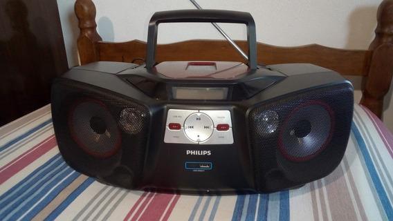 Radio Micro System Philips Az-1845 Usb Cd