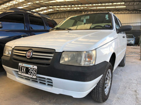 Fiat Uno Fire Way 1.3 2010 Blanco Oferta Ixk