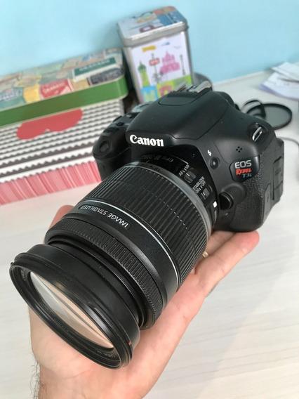 Câmera Canon T3i (com Lente 18-200mm) - Trabalho Ou Lazer!