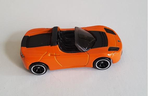 Tesla Roadster 2008 Hot Wheels Laranja Loose