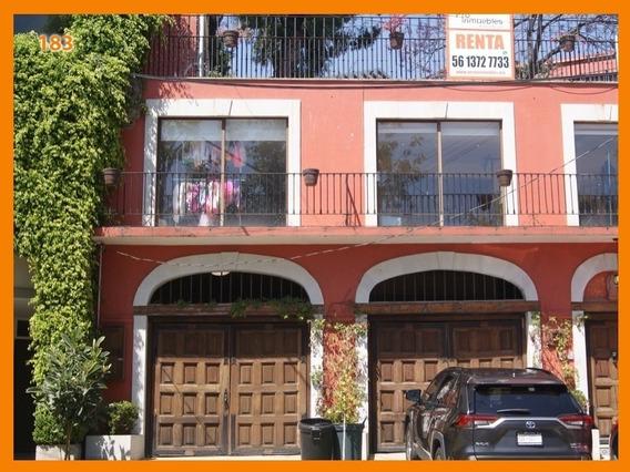 Hermosa Casa En Condominio En Lomas De Santa Fe