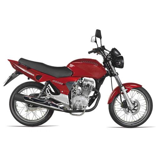 Yumbo Gs 200 Ii Motos Moto Nueva 0km 2021 + Obsequios Fama