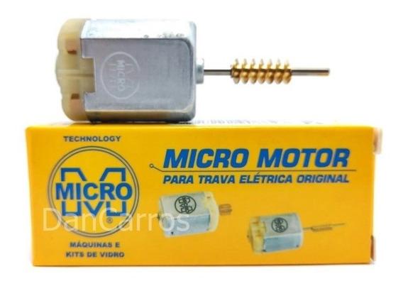 3 Micro Motor Mabuchi Fechadura Elétrica Gol Voyage Saveiro