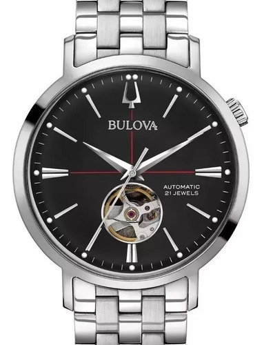 Relógio Bulova Masculio Automatico Jewelery 96a199