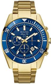 Relógio Bulova Masculino Cronógrafo Wb31774z Marine Star