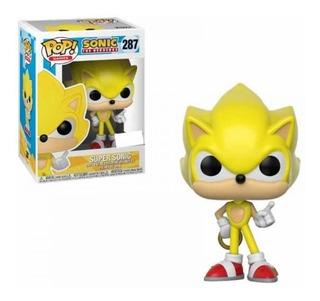 Funko Pop Super Sonic #287 - Miltienda - Sonic The Hedgehog