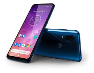 Smartphone Moto One Vision Azul Safira 6,3 128gb 48mp