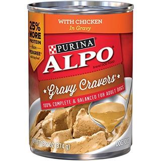 Purina Alpo Salsa Cravers Wet Dog Food - 12-13.2 Oz. Latas