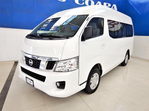 Nissan Urvan Nv350 15 Pasajeros 5vel. 2017