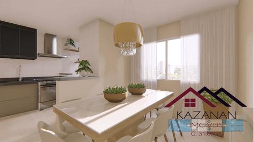 Imagem 1 de 15 de Apartamento 2 Dormitórios Em Santos - Campo Grande - 3353