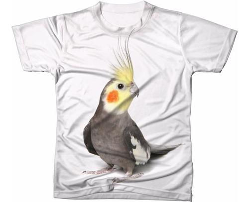 Camiseta Camisa Animal Passaro Ave Calopsita Caturra 03 Mercado Livre