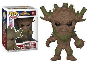 Funko Pop! Games Marvel Contest Of Champions King Groot