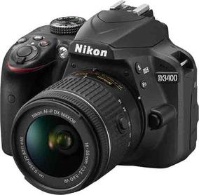Nikon D3400 Kit 18-55mm - 24mp