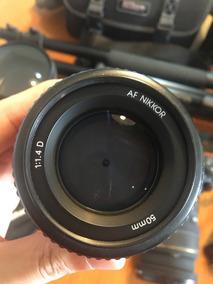 Lente Nikon Af Nikkor 50mm 1:1.4 D. Made In Japan