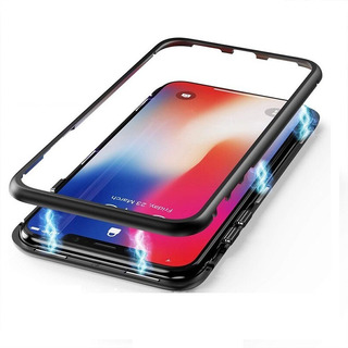 Capa Case Anti Impacto Magnetica Glass Huawei Mate 20 Pro