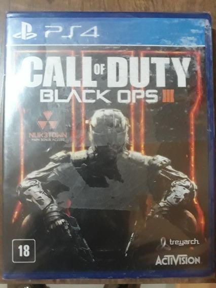 Jogo Ps4 Call Of Duty Black Ops 3 Lacrado Original!!