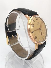 Relógio Ouro 18k Plaquê Britix C/ Breatling 13 Anos No M. L.