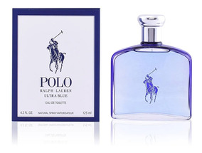 Ralph Lauren Polo Ultra Blue 125ml Selo Adipec Em 12x