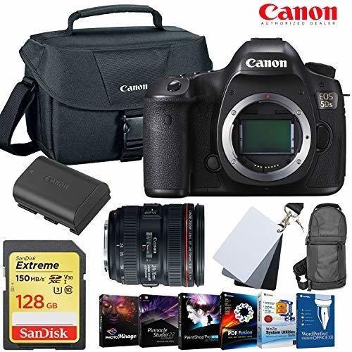 Camara Eos 5ds Dslr 24-70mm Lente 128gb Memory Card Extra ®