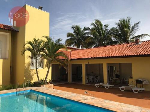 Imagem 1 de 15 de Chácara Com 3 Dormitórios À Venda, 2500 M² Por R$ 1.100.000,00 - Condomínio Estância Beira Rio - Jardinópolis/sp - Ch0107