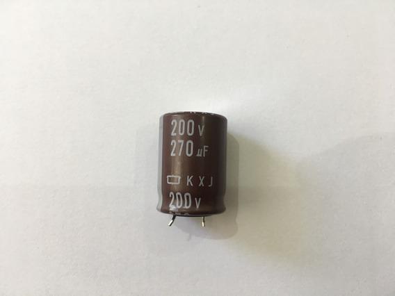 Capacitor 200v 270uf Novo