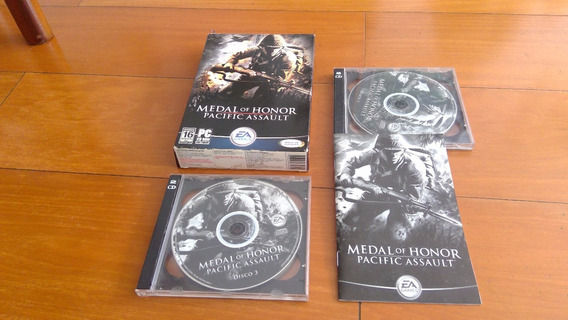 Medal Of Honor - Pacific Assault - 4 Cds Originais. Para Pc.