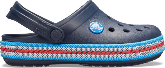 Zapato Crocs Infantil Crocband Sport Cord Clog Navy