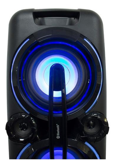 Bocina Zero Alien Subwoofer 6.5x2 Pulg Usb Fm Aux Bluetooth