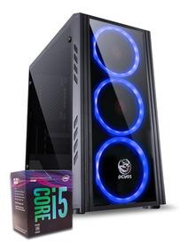 Pc 8ª Geração Core I5 8400 H310m-h 8gb Ddr4 Ssd 120gb 400w
